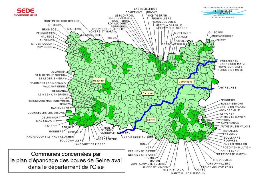 Rubrique fertifond p oise 60 for Liste communes oise